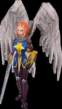 Commander Zilyana een volbloed Icyene