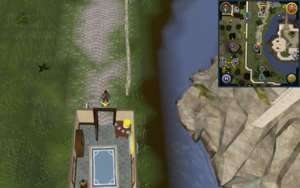 Scan clue Falador north of gem shop