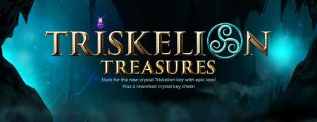 Triskelion Treasures banner