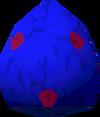 Chocolate egg (blue) detail