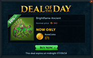 Deal of the Day - Brightflame Ancient