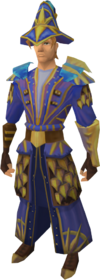 Astromancer outfit equipped