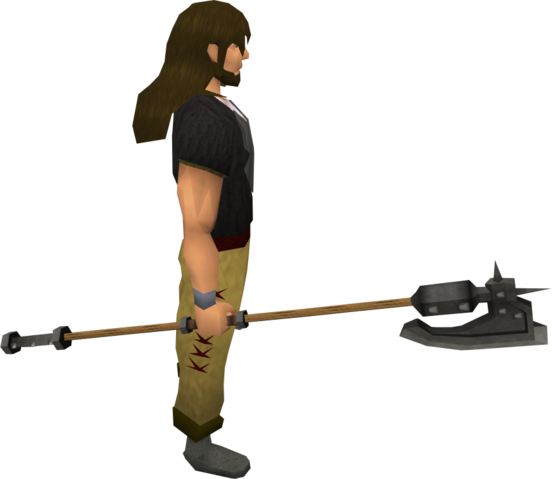 File:Iron halberd equipped.png
