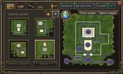 Clan citadel interface