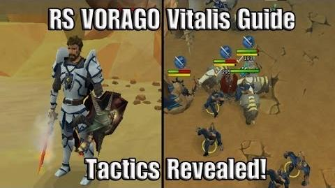 RS VORAGO Guides Vitalis, Tactics Revealed!
