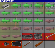 Inventory for vampire slayer