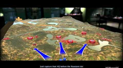 RUSE Mission 19 West Meets East Gameplay Hard (Wargamer) Difficulty (1 2)