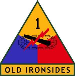 1st US Armored Division SSI
