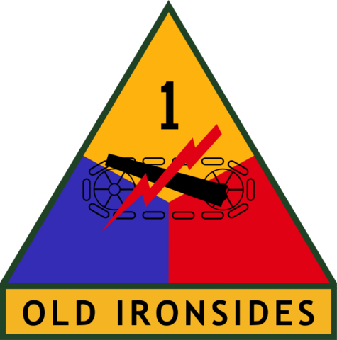 File:1st US Armored Division SSI.png