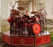Drum Workshop Collector's Series aztec red lacquer