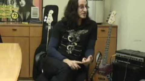 Geddy Lee Interview part 1 of 2