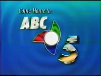 ABC 5 Logo ID February 1992