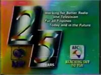 ABC 5 Logo ID KBP 25 Years
