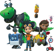 Rusty Rivets Spin Master Nickelodeon Pilot Characters 2