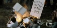 Rutle bonfires