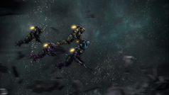 Freelancers fly through space