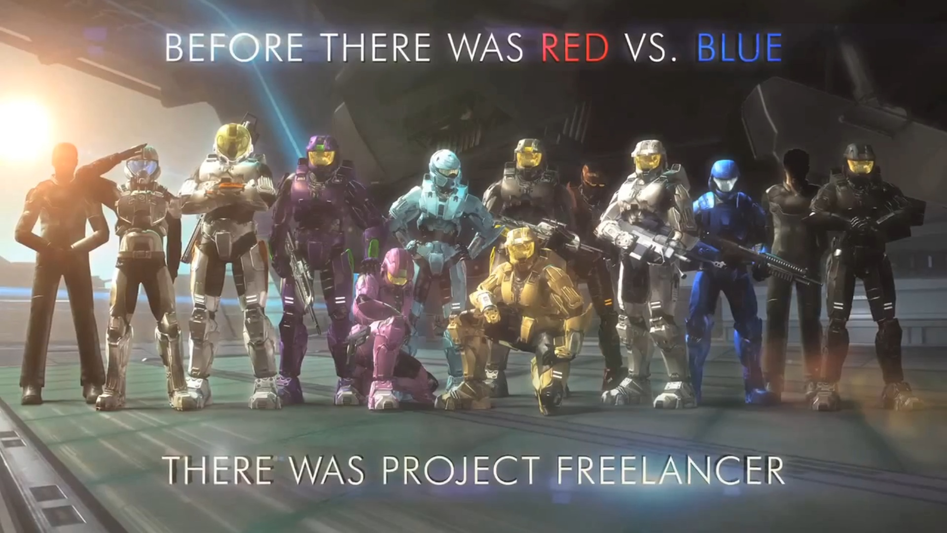 Image - Project Freelancer poster.png | Red vs. Blue Wiki | FANDOM powered by Wikia