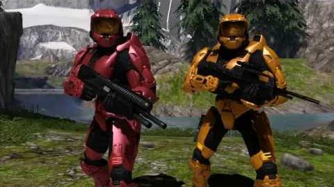 Red vs. Blue PSA Halo Fest
