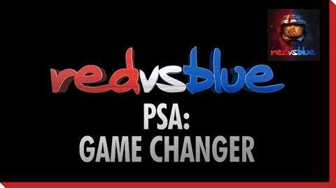 Game Changer PSA – Red vs. Blue Season 11