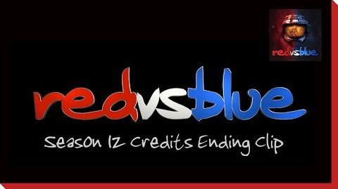 Season 12 Credits Ending Clip - Red vs