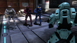 Epsilon, Caboose, & Sarge with Carolina