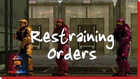 Restraining Orders – Chapter 11 – Red vs. Blue Season 8