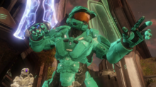 Tucker prepares to enter portal