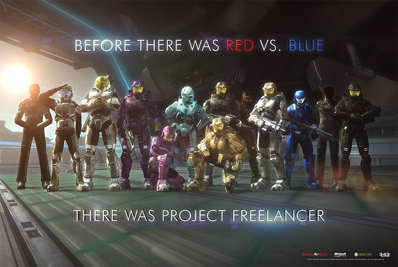 The Project Freelancer Saga | Red vs. Blue Wiki | FANDOM powered by Wikia