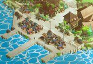 RWBY 4 - Menagerie Port concept art