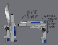 Saige's Weapon Prototype