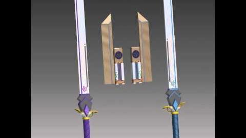 Indigo Stormcrest - RWBY Fan-Weapon