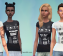 Human Being and Sim Shirts by Taomblr