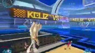 S4 League 'Card Gun' with katana dueling
