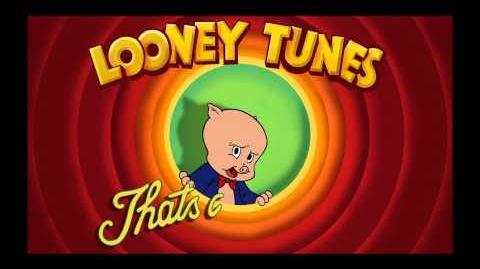 Thats all folks! Looney Tunes