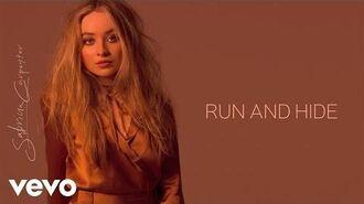 Sabrina Carpenter - Run and Hide (Audio Only)