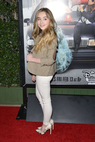 File:Sabrina Carpenter Bad Hair Day Premiere2.jpg