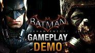 Batman Arkham Knight E3 Demo Gameplay