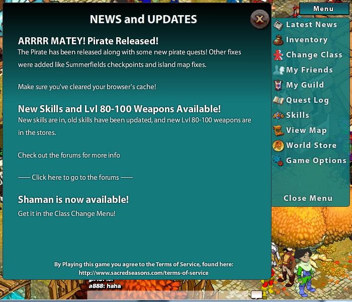 V0.9342 menu