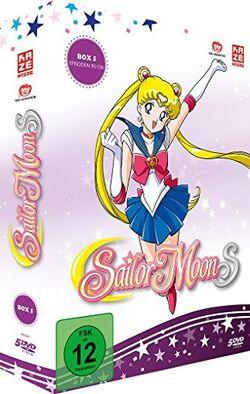 Sailor Moon S 5th German Boxset
