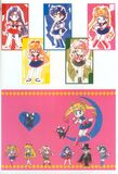 Chibi Senshi, Mask and Luna in the artbook