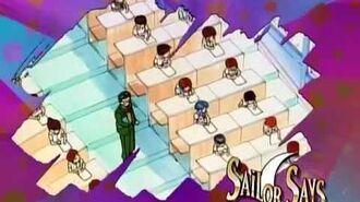 Sailor Says 23 Go to School!