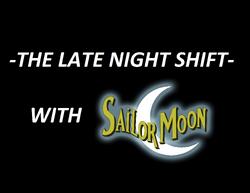 Sailor Moon Late Night Shift Logo