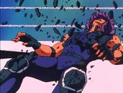 Geki defeated