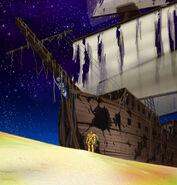 Ghost ship and Tokisada