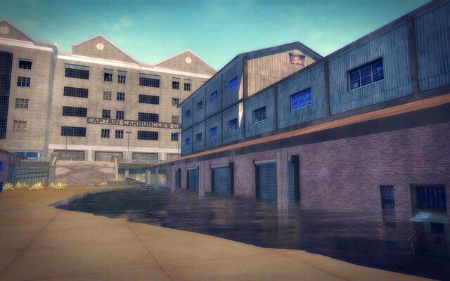 File:Stoughton in Saints Row 2 - flooded warehouses.jpg