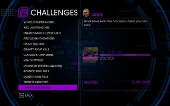 Challenge 48 Targets Blackholed