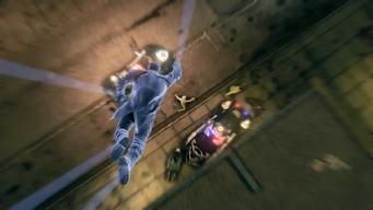 Saints Row IV Announce Teaser - flying ground punch