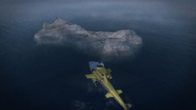 File:Bone Island - the side of the island from the air.jpg