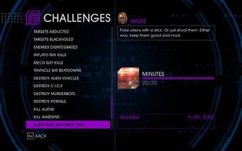 Challenge 59 Alien High Notoriety Time