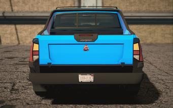 Saints Row IV variants - Criminal Decker - rear